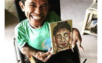 Penyandang disabilitas, berkarya demi hidup mandiri