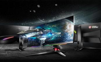 Monitor Gaming Lengkung MSI Naik Pesat