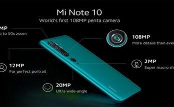 Ketahui Kelebihan dan Kekurangan dari Xiaomi Mi Note 10 Pro