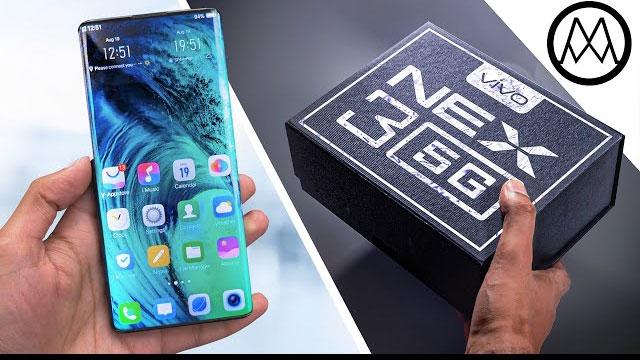 Smartphone Flagship Vivo dengan Jaringan 5G