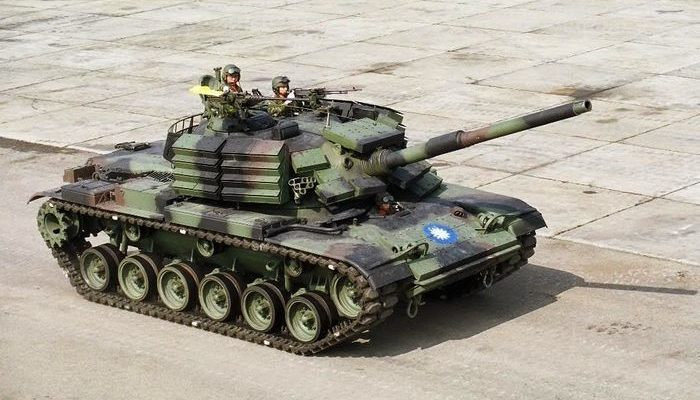Ini Dia Meriam Raksasa Militer Taiwan Yang Buat China Takut