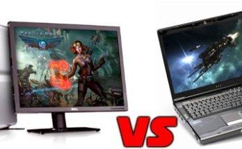 PC Desktop Gaming vs Laptop Gaming