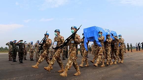 Gugur di Kongo, Jenazah Prajurit TNI AD Dibawa ke Pekanbaru