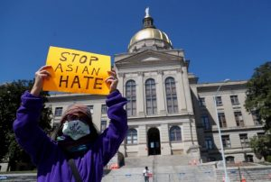 Biden Tanda Tangani Hukum Kebencian Rasial